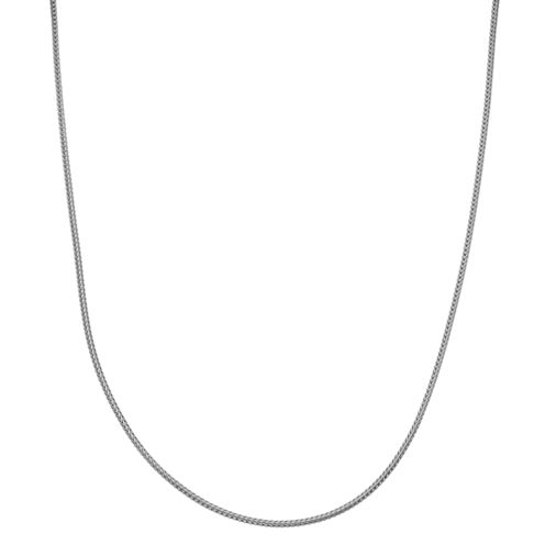 Children's Sterling Silver Wheat Chain Necklace