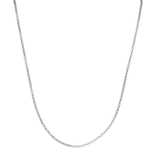 Children's Sterling Silver 15 Inch Rolo Chain Necklace