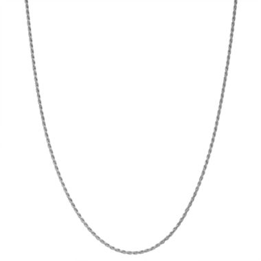 jcpenney.com | Children's Sterling Silver 15 Inch Rope Chain Necklace