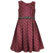 Bonnie Jean Fit & Flare Dress - Big Kid