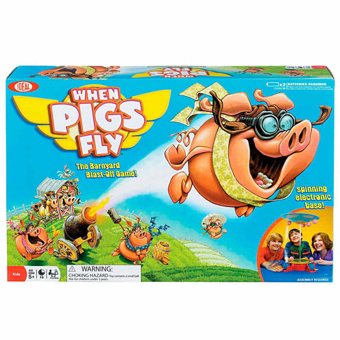 Ideal When Pigs Fly Board Game
