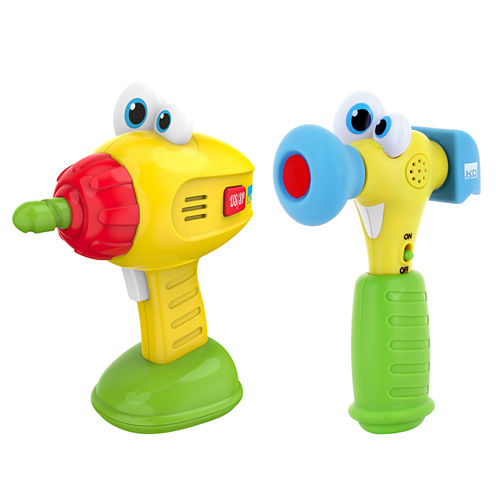 Kidz Delight Hammer And Drill Toy Tools
