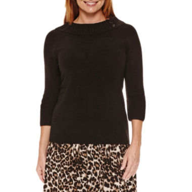 jcpenney.com | Sag Harbor Heritage Separates 3/4 Sleeve Sweater