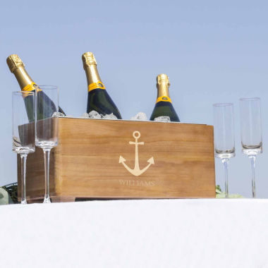 jcpenney.com | Cathy's Concepts Personalized Anchor Wooden Wine Trough