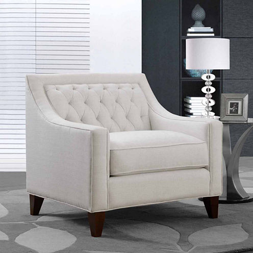 Aberdeen Linen Club Chair