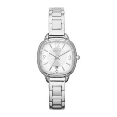 jcpenney.com | Relic® Womens Silver-Tone Square Watch ZR34246