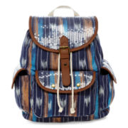 Olsenboye® Sequin-Covered Print Backpack