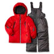 Rugged Bear Solid 2-pc. Snowsuit – Boys 12m-24m