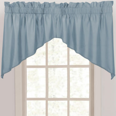 jcpenney.com | Supreme Palace Antique Satin Rod-Pocket Shaped Valance