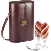 Picnic Time® Harmony Deluxe Wine Case for Two