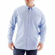The Foundry Supply Co.™ Patterned Oxford Shirt–Big & Tall