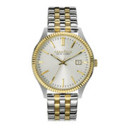 Caravelle New York® Mens Two-Tone Stainless Steel Watch