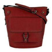 St. John's Bay® Harper Bucket Crossbody Bag
