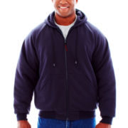 Tough Duck Hooded Bomber Jacket–Big & Tall