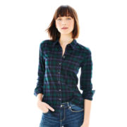 Joe Fresh™ Long-Sleeve Plaid Flannel Shirt