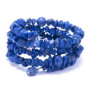 Dazzling Designs™ Genuine Dyed Sodalite Bracelet