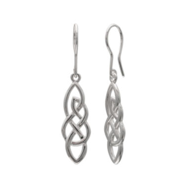 jcpenney.com | Sterling Silver Twisted Celtic Design Earrings