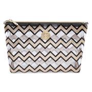 Adrienne Vittadini Studio Clear Cosmetic Bag