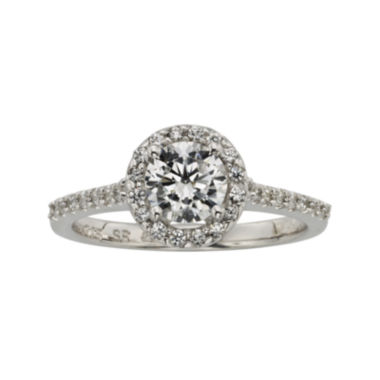 jcpenney.com | Diamonore™ 1⅓ CT. T.W. Simulated Diamond Round Halo Ring