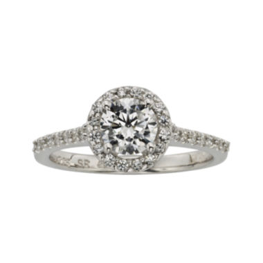 jcpenney.com | Diamonore™ 1 CT. T.W. Simulated Diamond Round Halo Ring