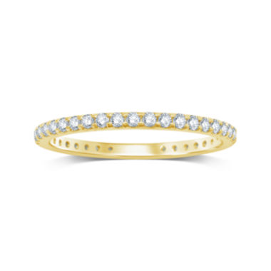 jcpenney.com | 1/2 CT. T.W. Diamond 14K Yellow Gold Eternity Band