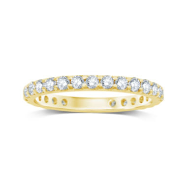 jcpenney.com | 1 CT. T.W. Diamond 14K Yellow Gold Eternity Band