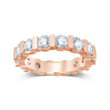 jcpenney.com | 3 CT. T.W. Diamond 14K Rose Gold Eternity Band