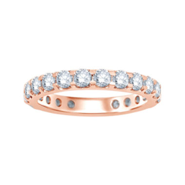jcpenney.com | 2 CT. T.W. Diamond 14K Rose Gold Eternity Band