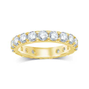 jcpenney.com | 3 CT. T.W. Diamond 14K Yellow Gold Eternity Band
