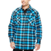 Ely Cattleman® Flannel Shirt Jacket