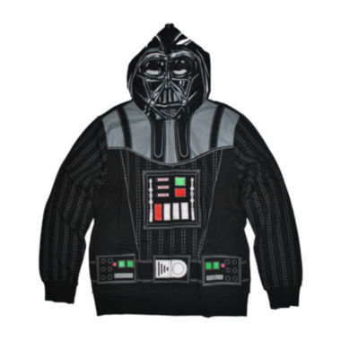 jcpenney.com | Star Wars™ Darth Vader Costume Fleece Full-Zip Hoodie