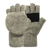St. John's Bay® Knit Pop-Top Gloves