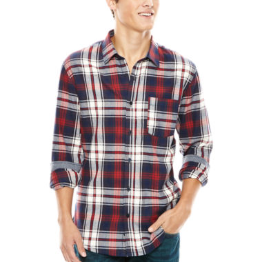 jcpenney.com | No Retreat Prescott Long-Sleeve Woven Shirt