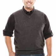 Dockers® Solid Sweater Vest - Big & Tall