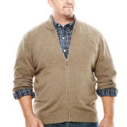 Dockers® Contrast Cardigan Sweater - Big & Tall