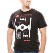 Star Wars™ Schematic Fight Graphic Tee - Big & Tall
