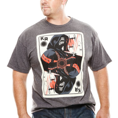 jcpenney.com | Star Wars: Force Awakens™ Aces High Graphic Tee - Big & Tall