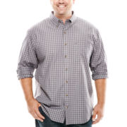 Arrow® Long-Sleeve Heritage Twill Shirt - Big & Tall