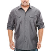 The Foundry Supply Co.™ Modern Roll-Tab Shirt - Big & Tall