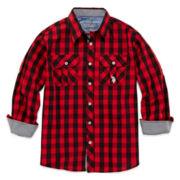 U.S. Polo Assn.® Plaid Shirt - Boys 8-18