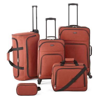 jcpenney.com | Protocol® Simmons 5-pc. Luggage Set