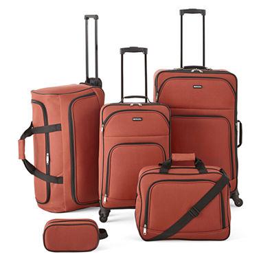 Protocol Simmons 5 pc Luggage Set
