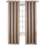 Sun Zero™ Cadiz Room-Darkening Grommet-Top Curtain Panel
