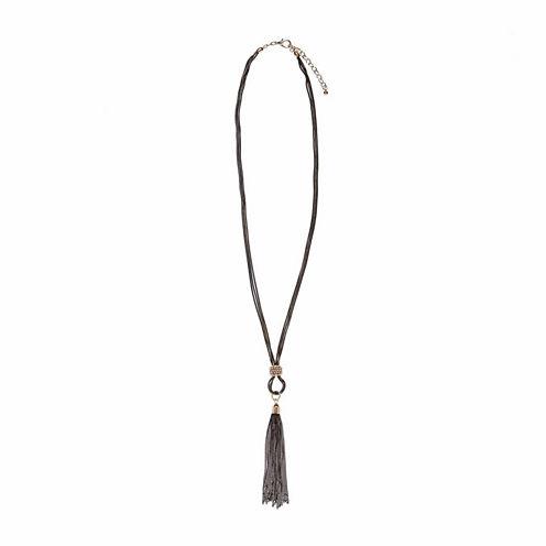 Natasha Accessories Womens Pendant Necklace