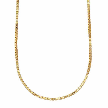 "jcpenney.com | 10K Yellow Gold 063 20"" Box Chain Necklace"