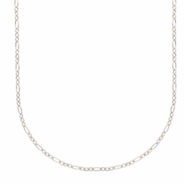 "jcpenney.com | 14K White Gold 18"" Cable Chain Necklace"