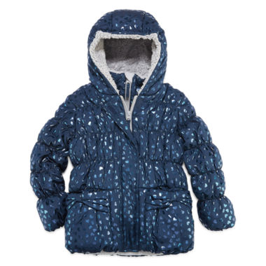 jcpenney.com | S Rothschild Girls Midweight Puffer Jacket-Toddler