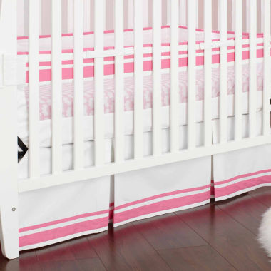 jcpenney.com | Just Born Pink Fresh Air Crib Liner