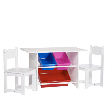 jcpenney.com | 6-pc. Kids Table + Chairs-Painted