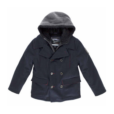 jcpenney.com | Boys Heavyweight Peacoat-Big Kid